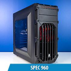 PCCG Spec 960 Gaming System