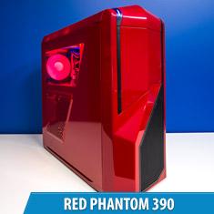 PCCG Red Phantom 390 Gaming System