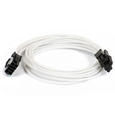 Phanteks Motherboard 8-pin Extension Cables White
