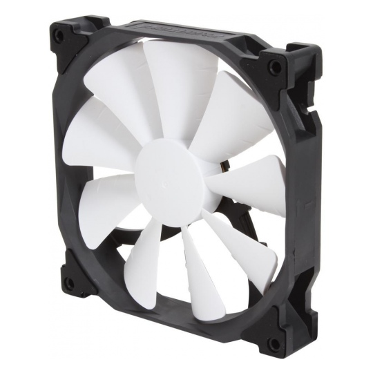 Phanteks 140mm Black Frame White Blade PWM Premier Fan