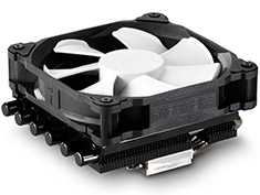 Phanteks PH-TC12LS Low Profile CPU Cooler Black Edition