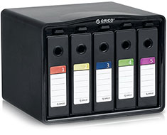 Orico 5 Bay 3.5in Hard Drive Protection Case