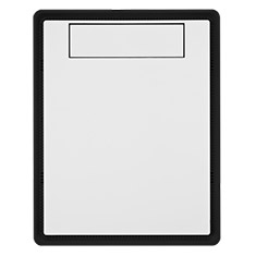 BitFenix Prodigy White Solid Front Panel w/Black Frame