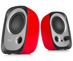 Edifier R12U 2.0 USB Powered Speakers Red
