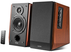 Edifier R1700BT 2.0 Bluetooth Bookshelf Speakers Brown