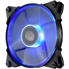 CoolerMaster JetFlo 120mm PWM Blue LED Case Fan