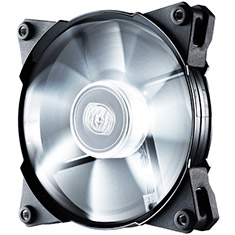 CoolerMaster JetFlo 120mm PWM White LED Case Fan