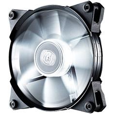 CoolerMaster JetFlo 120mm PWM White LED Case Fan