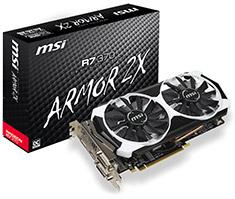 MSI Radeon R7 370 OC 2GB