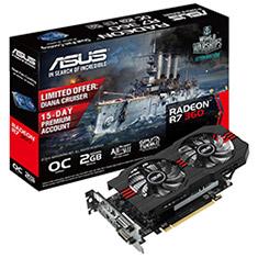 ASUS Radeon R7 360 OC 2GB