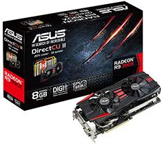 ASUS Radeon R9 390X DirectCU II 8GB