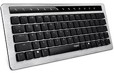 Rapoo KX Wireless/Wired Mechanical Keyboard Black Yellow Switch