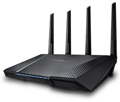 ASUS RT-AC87U AC2400 Dual-Band Gigabit Wireless Router