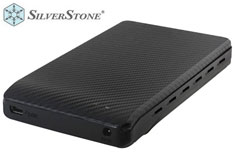 Silverstone Raven RVS02 Black USB 3.0 HDD Enclosure