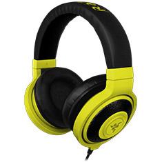 Razer Kraken Neon Analog Gaming Yellow Headphones