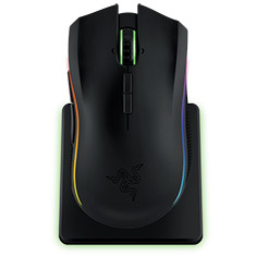 Razer Mamba Chroma RGB Wireless Laser Gaming Mouse