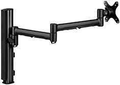 Atdec Systema S7140B Monitor Arm & Post Desk Mount