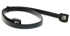 PCCG SATA III Cable Straight Black 50cm