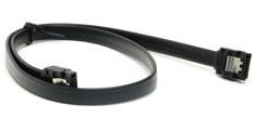 PCCG SATA III Cable Straight Black 50cm