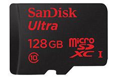 SanDisk Ultra MicroSDXC UHS-I 128GB