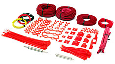 ModSmart Professional Sleeving Kit UV Red