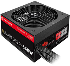 Thermaltake Smart DPS G Gold 650W Power Supply