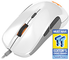 SteelSeries Rival 300 Optical Gaming Mouse White