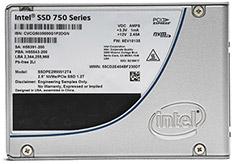 Intel 750 Series PCIe NVMe 3.0 2.5in 400GB SSD