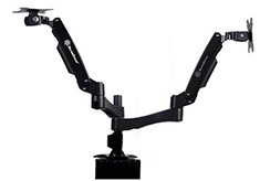 SilverStone ARM22BC Dual Monitor Mount