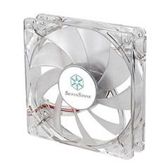 SilverStone FN121-P-WL 120mm White LED Fan