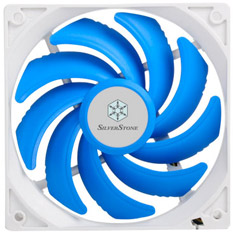SilverStone FQ121 120mm White Frame 1800RPM PWM Fan