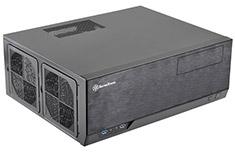 SilverStone Grandia GD09 HTPC Case Black