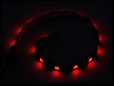 Silverstone 30cm 15 LED Flexible Strip Red