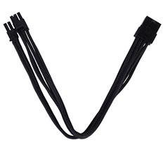 Silverstone PP07 8pin to PCI-E 8pin Cable 25cm Black