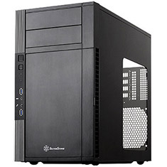 SilverStone Precision PS07 USB 3.0 Micro ATX Case with Window