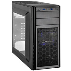SilverStone Precision PS11W Mid Tower Chassis with Window