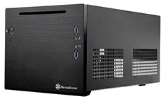 Silverstone Sugo SG08 Small Form Factor ITX Case Black