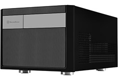 SilverStone Sugo SG11 Small Form Factor ITX Case Black