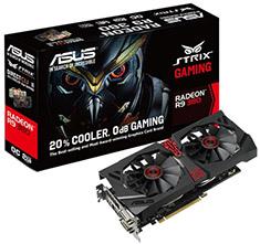 ASUS Radeon R9 380 Strix DirectCU II OC 2GB