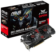 ASUS Radeon R9 380 Strix DirectCU II OC 4GB