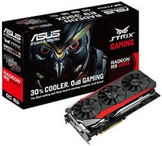 ASUS Radeon R9 390X Strix DirectCU III OC 8GB