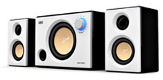 Swan M10 Powered 2.1 System White