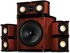 Swan M20 5.1 Multimedia Surround Sound Speaker System