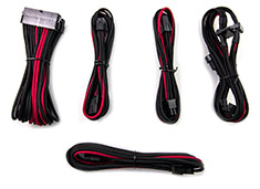 PCCG Sleeved Cable Extension Kit Redback