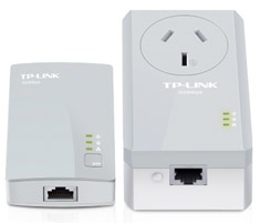 TP-Link TL-PA4016PKIT AV500 Powerline Passthrough Starter Kit