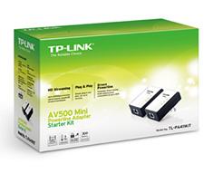 TP Link TL-PA411-KIT AV500 Mini Powerline Adapter Starter Kit
