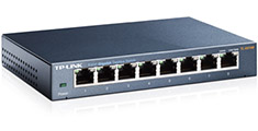 TP-Link TL-SG108 8 Port Desktop Gigabit Switch