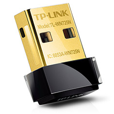 TP-Link WN725N Wireless N150 Nano USB Adapter