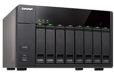QNAP TS-851 8 Bay Hotswap NAS