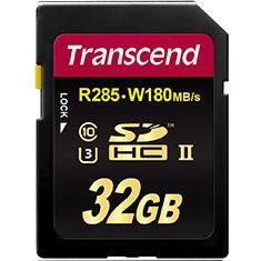 Transcend SDXC/SDHC Class 10 UHS-II Card 32GB